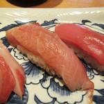 寿司栄 華やぎ - ブリ。