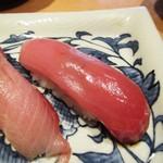 寿司栄 華やぎ - メジマグロ。
