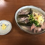 高江洲そば - 2018年12月25日  中味そば(中)770円