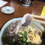 高江洲そば - 2018年12月25日  中味