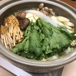 かず味家 - 鍋の野菜