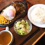 ステーキのくいしんぼ - サービスランチ(690円)
