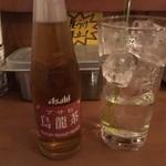 アララカリー - 金宮中、烏龍茶