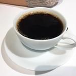 幸せのパンケーキ - ホットコーヒー