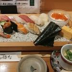 寿司の磯松 - 磯松にぎり(ランチ)