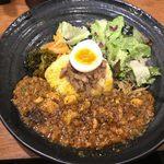 99196612 - 「ろかプレート【麻婆豆腐咖喱~kiwami~】」1,050円