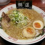 花丸軒 - 料理写真:【しあわせラーメン + 自家製味玉子】¥700 + ¥100
