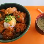 丸沼高原レストランプラトー - タッカルビ丼 みそ汁付  1200円