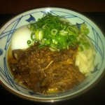 丸亀製麺 - 肉玉ごぼうぶっかけうどん 530円