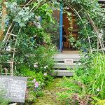 NISHIann cafe - ガーデン・エントランス