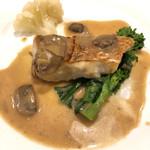 ビストロ オザミ - 真鯛のポワレ