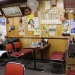 鹿児島屋 - 店内