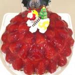 ローザンヌ - 苺のスペシャルケーキ