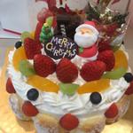 ローザンヌ - フルーツクリスマスケーキ