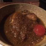 スパイスカフェ - 牡蠣のカレー