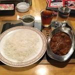 インド料理店グローリー&バー - 【日替りランチ(¥650+税)】※ライスは+\200で日本米→インディカ米に変更しています。