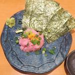 チバラキ伸太郎酒場 - 料理写真:トロタク380円