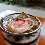 倉敷甲羅本店 - 料理写真:単品のかに身たっぷり甲羅焼き