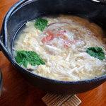 倉敷甲羅本店 - かに雑炊御膳の雑炊