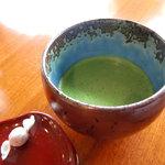 倉敷甲羅本店 - 抹茶(食後のお飲み物は無料)
