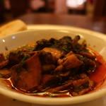 ワイン食堂tapa tapa - イカのすみ煮アップ