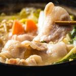 豚の生姜味噌鍋