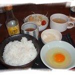 ラ・モンステラ - 卵かけご飯