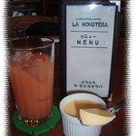 ラ・モンステラ - プリンとグァバジュース