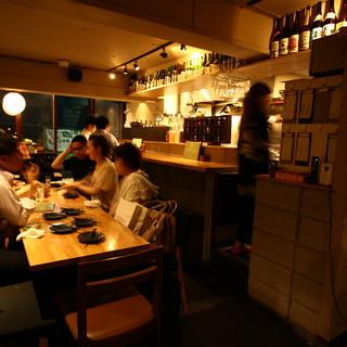 渋谷の喧噪を離れた、落ち着いた隠れ家居酒屋◎