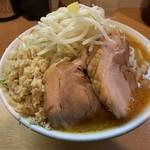 豚星。 - 【2018.12.14】味噌ラーメン850円+ショウガ50円