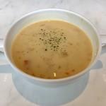 グラン カフェ - ランチのスープ