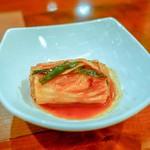 桔梗苑 - ☆キムチ(白菜)460円