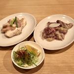 情熱焼肉ファイティングマン - ソソカルビ、上ホルモン