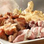 肉バルイタリアン ふぇりちった - 肉の盛り合わせ