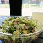 クリスプ サラダ ワークス - ダウンタウン・コブアップクリスプ サラダのアップですw
