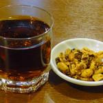 Tenfuen - 紹興酒!(餃子+チャーハン+生ビール¥980)