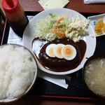 御食事処 小雪 - 料理写真:ハンバーグ定食