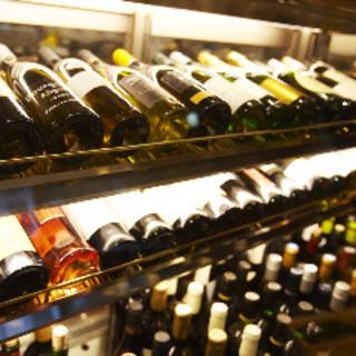 個性派揃い!約60種以上の愛すべきワインたち!