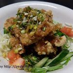 あつし亭 - 料理写真:とりからネギソース