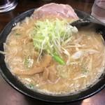 らーめん むげん - 味噌ラーメン(750円