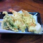 9924536 - 定食の天ぷら