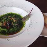 ショコレア - エスカルゴとつぶ貝の香草バターソース