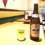 ネパールキッチン・キリティ - 瓶ビール 500yen