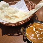 ネパールキッチン・キリティ - バターチキンカレー 980yen