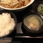 むちゃく - ご飯・小鉢