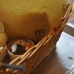 手作りパンカフェ・ピクニック - 袋にもかわいいデザインが