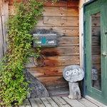 リーズカフェ - 入り口です