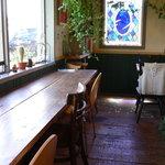リーズカフェ - カウンター席(2008年)