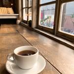 寺崎コーヒー - 本日のドリップコーヒーKamwangiをオシャレに撮影②