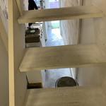 寺崎コーヒー - 階段上ります。